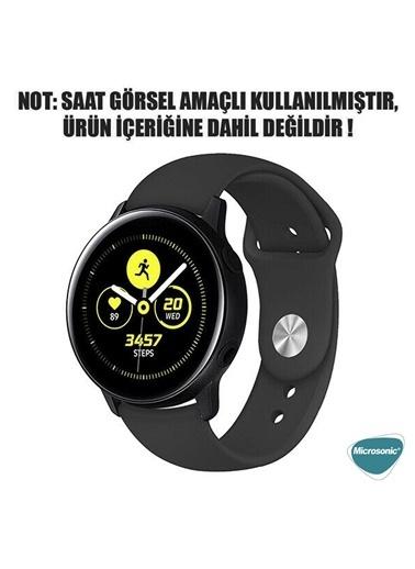 Microsonic Realme Rma207 Watch S Silicone Sport Band Açık Yeşil Mor